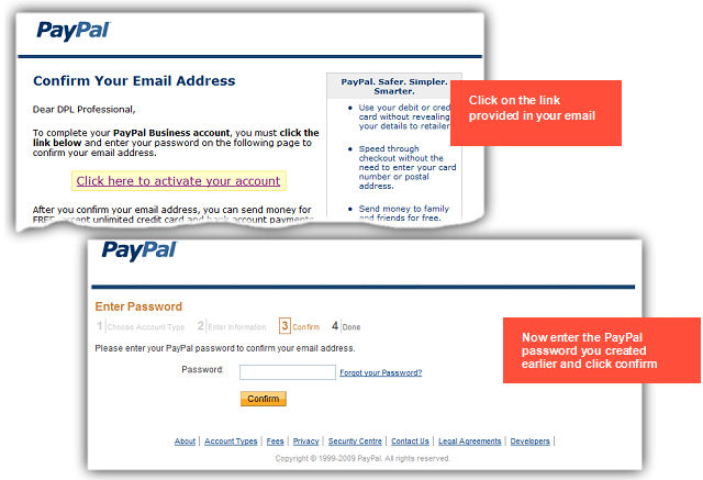 Creating you PayPal Business Account